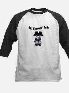 Get groovin' TAP! purple Kids Baseball Jersey