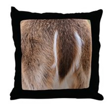 Deer Tail Throw Pillow
