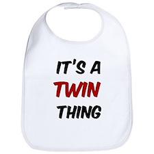 Twin thing Bib