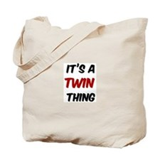 Twin thing Tote Bag