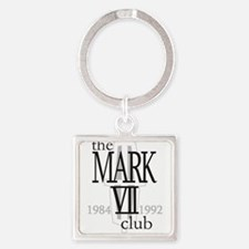 The Lincoln Mark VII Club Logo Keychains