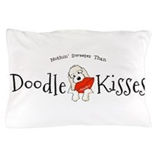 Doodle Kisses Pillow Case