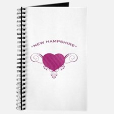 New Hampshire State (Heart) Gifts Journal