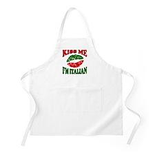 Kiss Me I'm Italian BBQ Apron