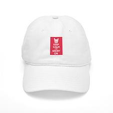 Keep Calm and Snort On Baseball Baseball Cap