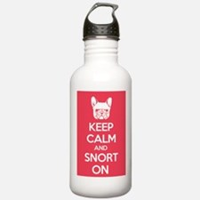 Keep Calm and Snort On Water Bottle