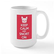 Keep Calm and Snort On Mug
