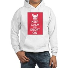 Keep Calm and Snort On Hoodie
