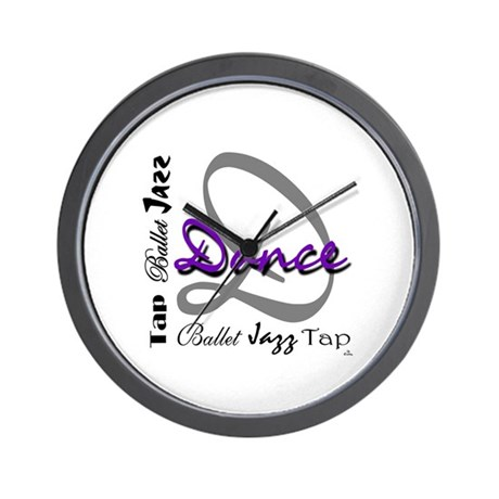 Ballet, Jazz, Tap Dance Wall Clock
