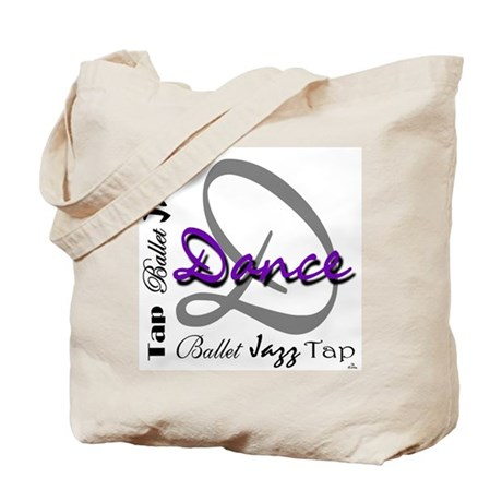 Ballet, Jazz, Tap Dance Tote Bag