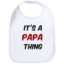 Papa thing Bib