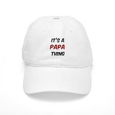 Papa thing Baseball Cap