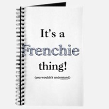 Frenchie Thing Journal