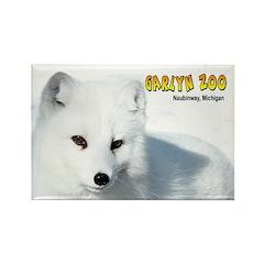 Arctic Fox Rectangle Magnet (10 pack)