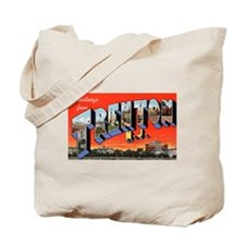 Trenton New Jersey Greetings Tote Bag