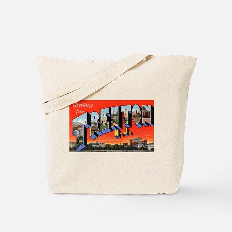 Trenton New Jersey Greetings Tote Bag