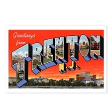 Trenton New Jersey Greetings Postcards (Package of