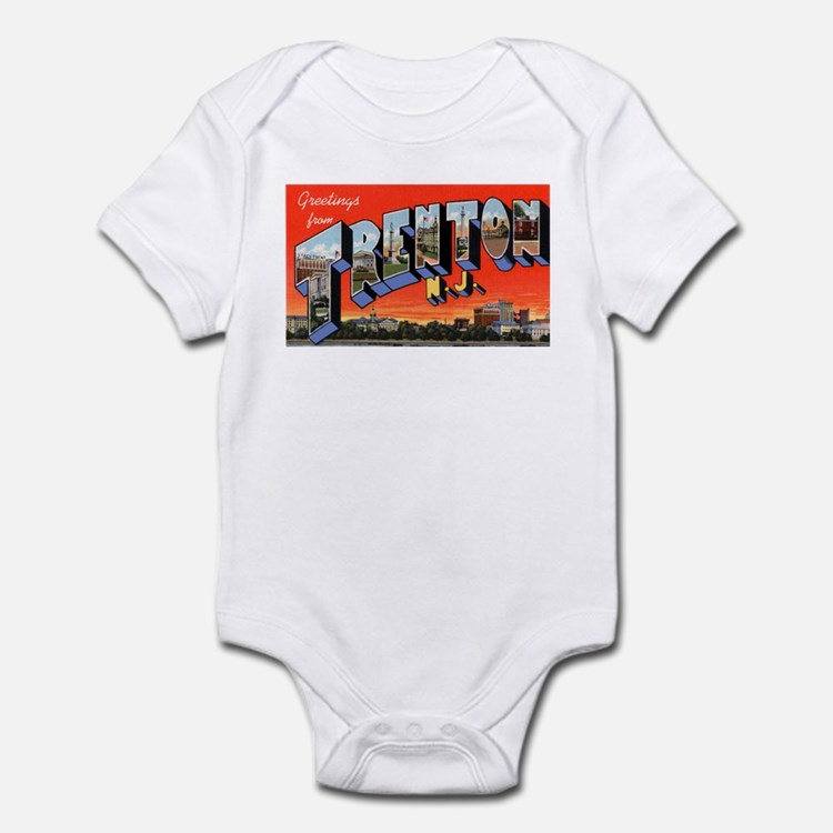 Trenton New Jersey Greetings Infant Bodysuit