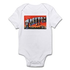Trenton New Jersey Greetings Onesie