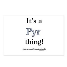 Pyr Thing Postcards (Package of 8)