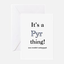 Pyr Thing Greeting Cards (Pk of 10)