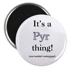 Pyr Thing Magnet