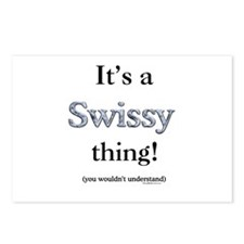 Swissy Thing Postcards (Package of 8)