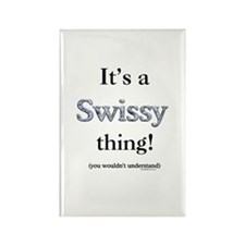 Swissy Thing Rectangle Magnet