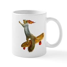 Skateboarding Squirrel Mug