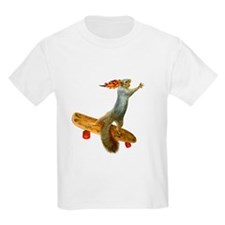 Skateboarding Squirrel T-Shirt