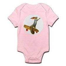 Skateboarding Squirrel Infant Bodysuit