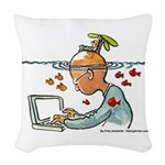 Creative Daydreaming | Woven Throw Pillow