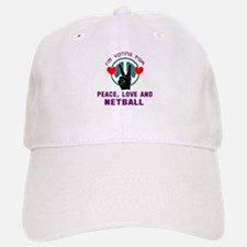 I am voting for Peace, Love and Netball Hat