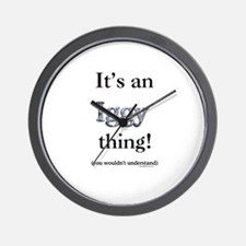 Iggy Thing Wall Clock