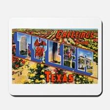 Tyler Texas Greetings Mousepad