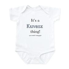 Kuvasz Thing Infant Bodysuit