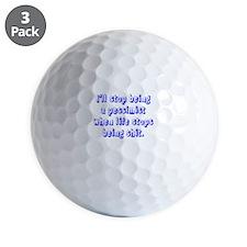 Pessimist's Golf Ball