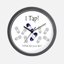 I Tap! What do you do? Wall Clock