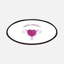 New Jersey State (Heart) Gifts Patches
