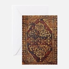 Vintage Book Cover Greeting Card