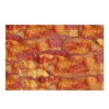 Fried Bacon Background Pa Postcards (Package of 8)