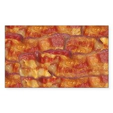 Fried Bacon Background Pattern Decal