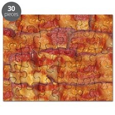Fried Bacon Background Pattern Puzzle