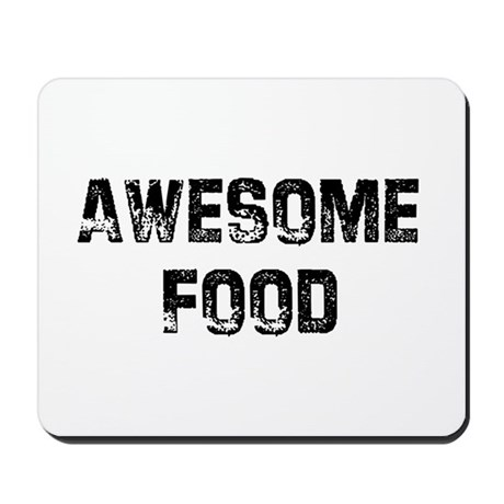 Awesome Food Mousepad