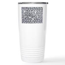 Radial Rhinestone Bling Ceramic Travel Mug