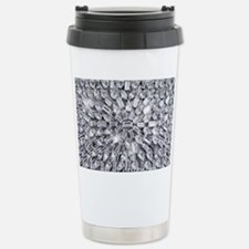 Radial Rhinestone Bling Travel Mug