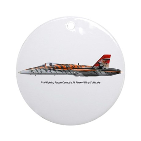 4 Wing Cold Lake Ornament (Round)