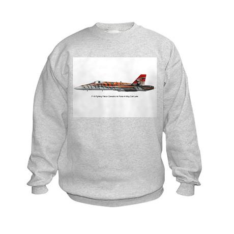 4 Wing Cold Lake Kids Sweatshirt