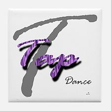 Big T Purple Tap Tile Coaster