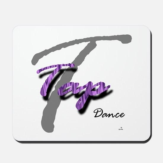 Big T Purple Tap Mousepad